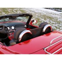 Komplet FIAT Barchetta windschott materiałowy + pałaki